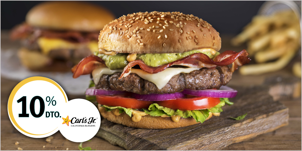 Descuento Carls Jr ISIC
