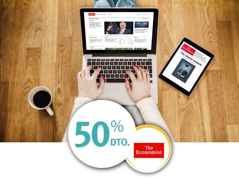 The Economist 50% de descuentos con ISIC
