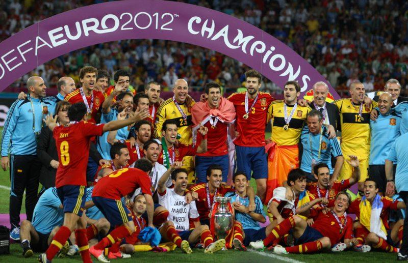España Campeona Eurocopa 2012 ISIC