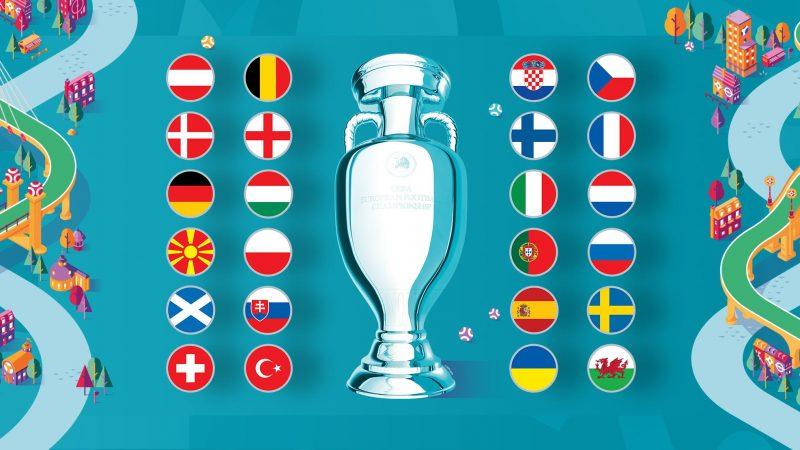 Selecciones Participantes de la Eurocopa